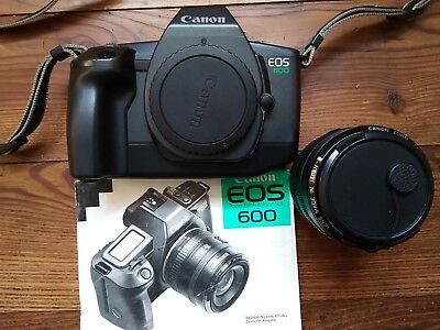 Canon EOS 600 inkl. Canon Zoom Lens EF 35 - 70mm +Handbuch