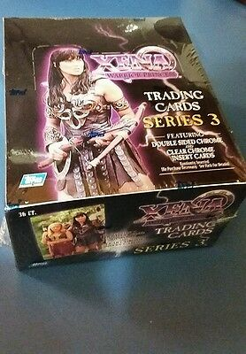 Xena * Warrior Princess - Series 3 - Factory Sealed Box Of Trading Cards **