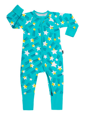 BONDS Zip Wondersuit Star Print: Newborn, 3-6, 6-12, 12-18 months Unisex