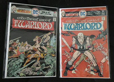 Warlord Enter The Lost World (#1-11) VF/NM Lot of 11