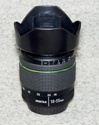 Pentax 18-55mm WR zoom: Weather resistant and in super condition