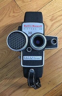 Bell And Howell 240 Electric Eye Movie Camera 1950s