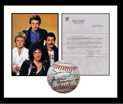 Queen Autographed Signed