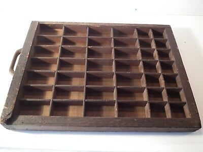 """Wooden Printers Tray 14"""" x 11"""" approx"""