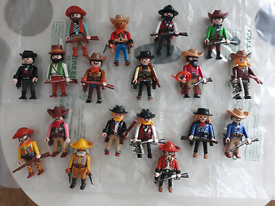 ♤♤ LOT WESTERN   Cowboys Playmobil + 32 Personnages ♤♤ - EUR 103 ... 4952aa0599d