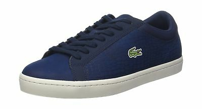 fcced5ee4 LACOSTE STRAIGHTSET SP 317 1 CAM Trainers in Brown 734CAM0063 078 ...