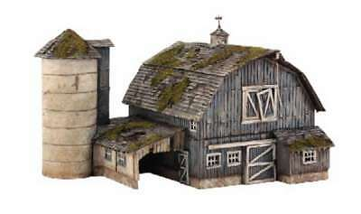 Woodland Scenics Rustic Barn - N Scale Kit 724771052111