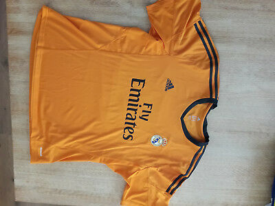 Real Madrid Fußball Trikot CR7 - 7 - Ronaldo Orange adidas XXL Kurzarm NEU