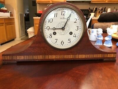 Seth Thomas Mantle Clock ~ Made In Germany