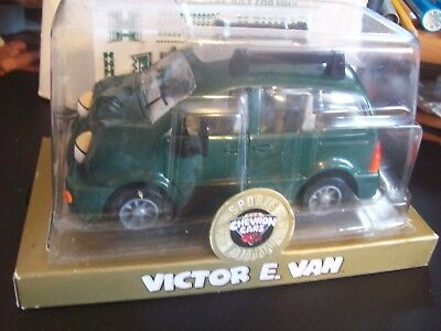 """CHEVRON SPORTS CAR """"VICTOR E. VAN""""  WITH HAWAII STICKERS New In Box"""