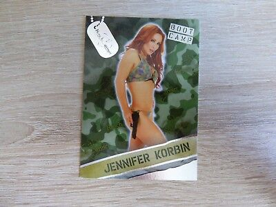"Bench Warmer 2013 Hobby - Boot Camp Card 02  ""Jennifer Korbin"""
