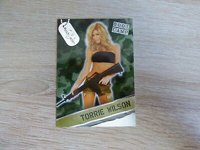 "Bench Warmer 2013 Hobby - Boot Camp Card 04  ""Torrie Wilson"""