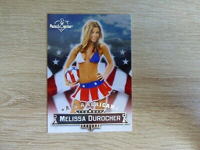 "Bench Warmer 2013 Hobby - All American Card 06  ""Melissa Durocher"""