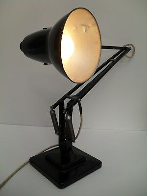 Unrestored Vintage Herbert & Terry Sons Anglepoise Lamp Mid Century Industrial