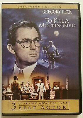 TO KILL A MOCKINGBIRD (Collector's Edition DVD, 2006) *Gregory Peck* SHIPS FAST!