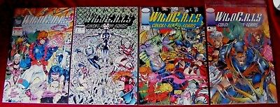JIm Lee's WildCats #1, #2, #3 & #4 Image Comic Books! Original Owner!