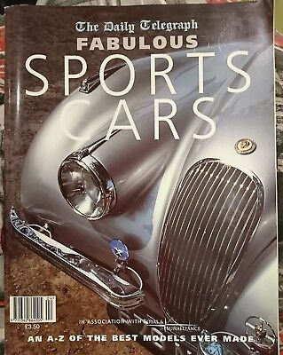 Daily Telegraph Fabulous Sports Cars Magazine 1997 A-Z Best Models Ever Made