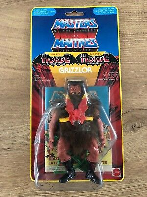 Mattel MOTU Yellow Border ~ Grizzlor ~ Masters Universe OVP France MOC EU Euro