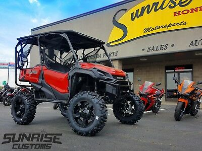 2018 Honda Pioneer 1000 5 seat Deluxe lifted with ProBox and lots of customs