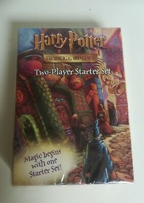 *harry Potter Trading Card Game Two Player Starter Set 2001 Sealed*very Scarce*