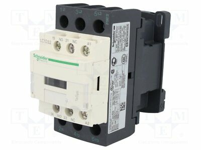 Brand New Schneider Electric  LC1D32P7 3 Pole Contactor, 3NO, 32A, 15 kW, 230VAC
