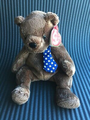 99bff975699 TY-HERO-BEANIE BABY FATHERS DAY Bear New -  7.00