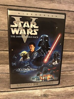 Star Wars: Episode V - The Empire Strikes Back (DVD, 2004) Widescreen MINT Disc