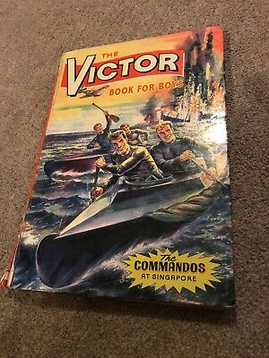 The Victor Book for Boys.  The Commandos at Singapore. 1965.