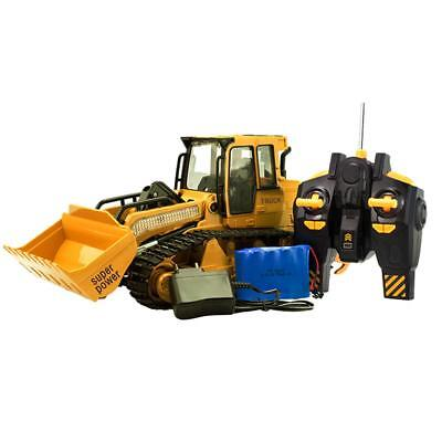 XM-6822L Large Simulated Remote Control Bulldozer With Light Sound Kids Car Toy