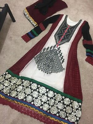 Salwar Kameez Suit Indian Pakistani Designer Bollywood Dress Anarkali Shalwar