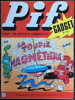 PIF Gadget no.142 (Vaillant No.1380) november 1971 Very good condition without