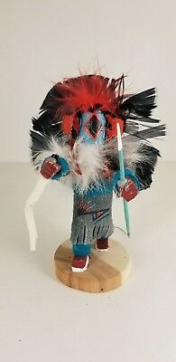 Authentic Navajo Handmade Sm CHASING STAR Kachina Doll Signed By Artest Yazzie