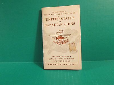 1963 United States And Canadian Coins Check List And Record Book