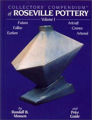 COLLECTORS' COMPENDIUM OF ROSEVILLE POTTERY, VOL. 1: FUTURA, By Randall B. Mint