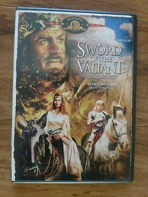 Sword of the Valiant (OOP RARE Authentic 2004 DVD)  Sean Connery, Peter Cushing