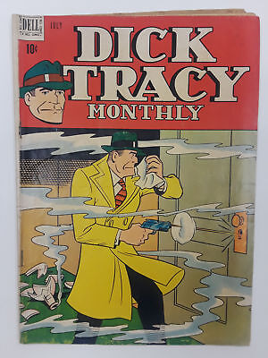 Dick Tracy #7 (Gd+ 2.5) 1948 Golden Age! Dell Publishing