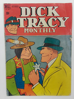 Dick Tracy #10 (G/vg 3.0) 1948 Golden Age! Dell Publishing
