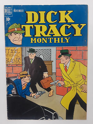 Dick Tracy #11 (Vg- 3.5) 1948 Golden Age! Dell Publishing
