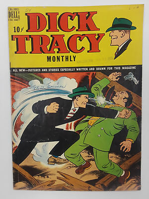 Dick Tracy #24 (Vg- 3.5) 1949 Golden Age! Dell Publishing