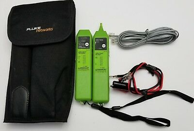 Greenlee 1573 Tone & Probe Plus Cable-Check UTP/STP Cable Tester w/ Fluke pouch