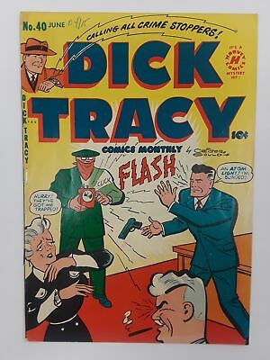 Dick Tracy #40 (Vg 4.0) 1951 Golden Age! Harvey Comics!