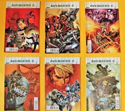 Ultimate Avengers 2 - complete 6 issue limited series