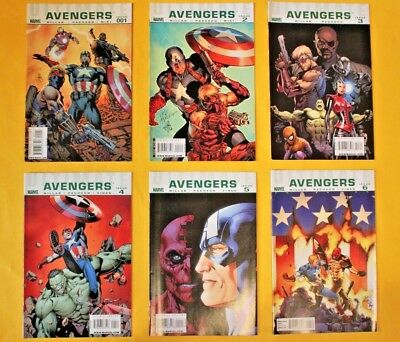 Ultimate Avengers - complete 6 issue limited series