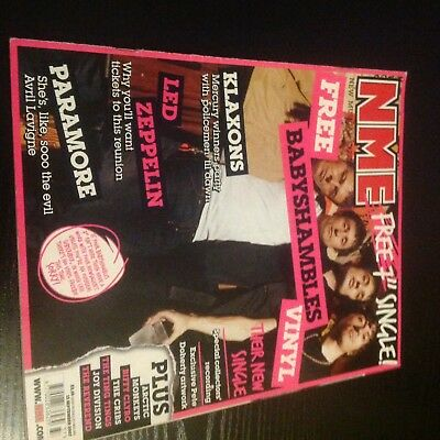 New Musical Express (NME) - Babyshambles Cover - 15th September 2007