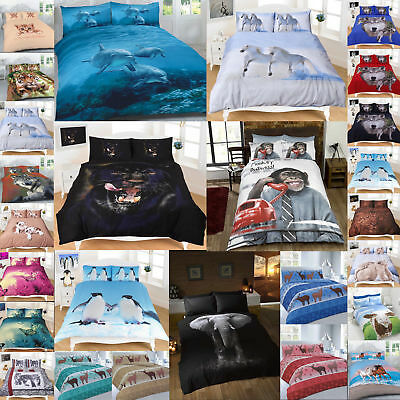 3D Animals Pattern Luxurious Modern Stylish Duvet Cover Sets Bedding Sets By NZ