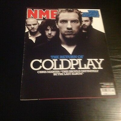 New Musical Express (NME) - Coldplay Cover - 23rd April 2005