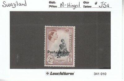 Stamps - Swaziland Postage Due - #J5a - Unused but hinged