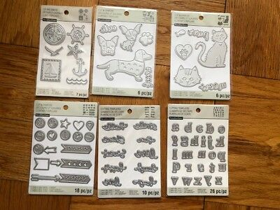 NEW HUGE LOT OF 73 Recollections Cut And Emboss  Cutting Dies SIZZIX SEALED