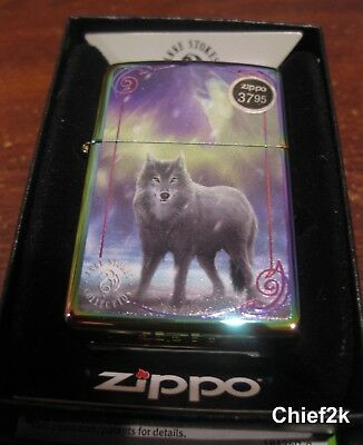 Zippo Lighter Wolf Anne Stokes Collection 29348