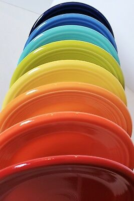 Fiesta Fiestaware, New Flawed 2nds, Lot of 8 Side Salad Plates, Mixed Color Set